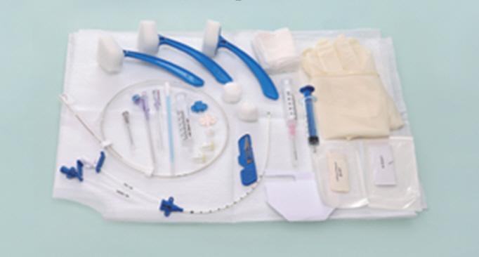 Central venous catheter - Compound pack